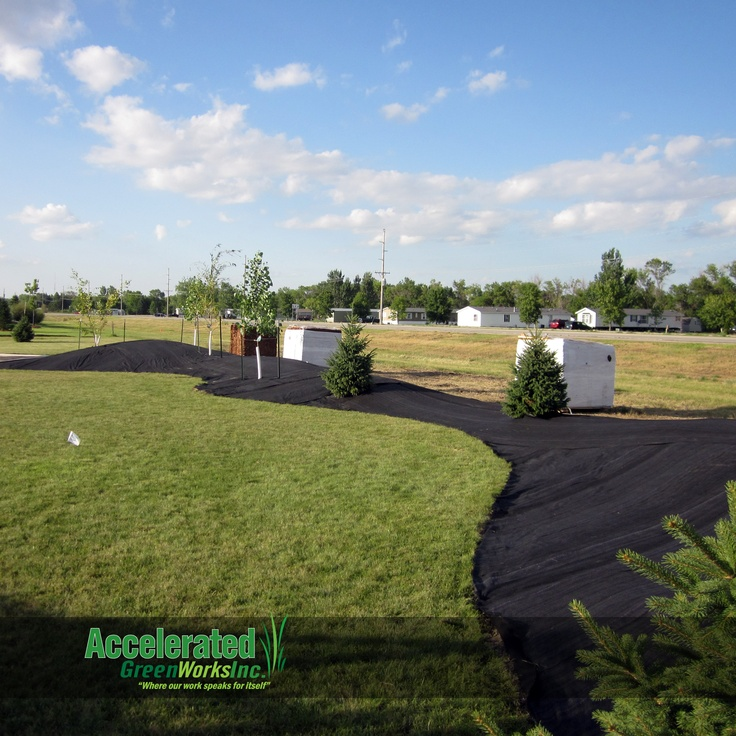 raised berms can add a wonderful definition to your backyard they are