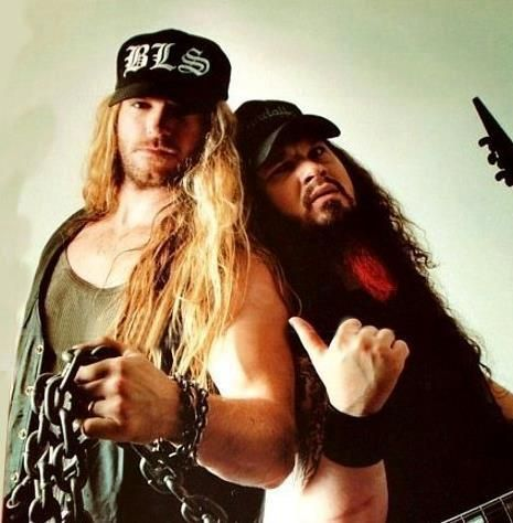 Zakk Wylde and Dimebag Darrell......................