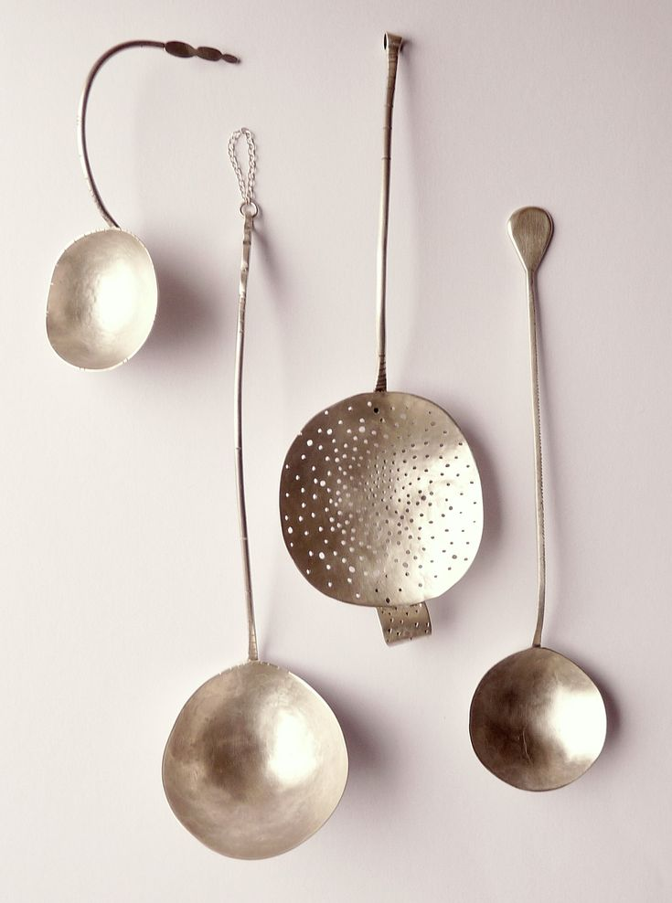 Little collection of silver spoons. Helena Emmans. http://helenaemmansartist.com/index.htm