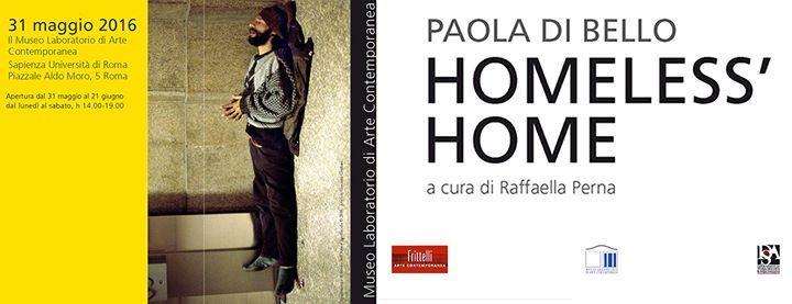 31 Maggio, 18:00 - MLAC - Museo Laboratorio di Arte Contemporanea - Rome - Italy - Il Museo Laboratorio di Arte Contemporanea (MLAC), Università di Roma La Sapienza, è lieto di presentare la mostra Paol...
