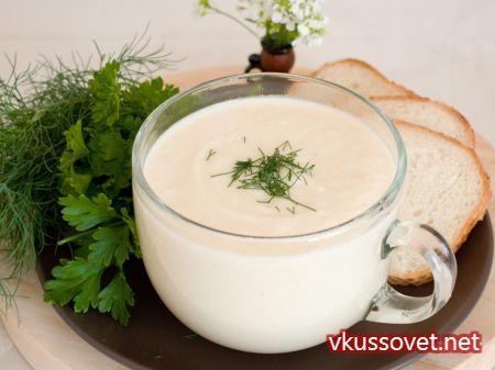 Суп – пюре из цветной капусты