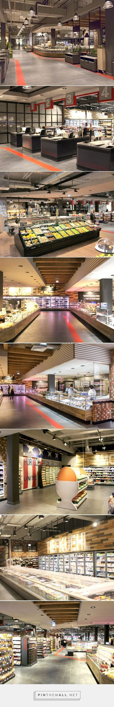 Grocery store, Berlin | Kinzel Architecture / Edeka Reichelt - created via http://pinthemall.net