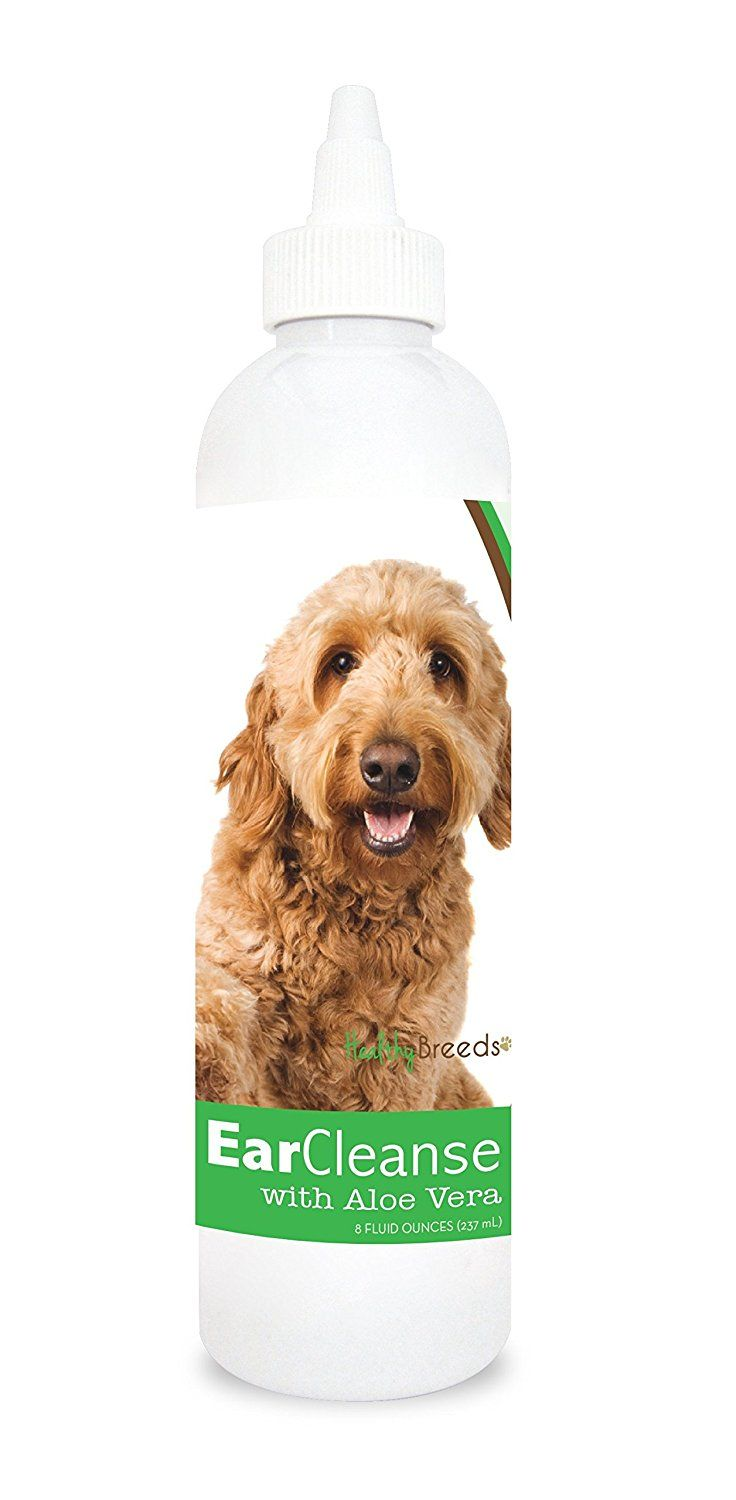 Healthy Breeds 1033-gdoo-002 Golden Doodle Ear Cleanse with Aloe, Cucumber and Melon, One Size/8 oz ** Click image for more details. (This is an affiliate link and I receive a commission for the sales)
