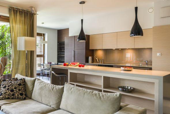 monoambiente cocina living biblioteca dormitorio - Buscar con Google
