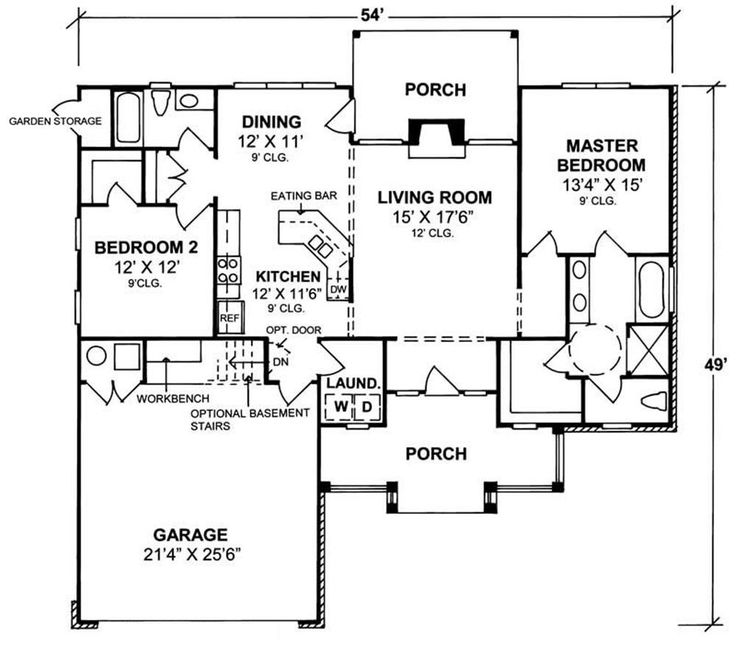 472 best ada universal design house plans and or for Universal design floor plans