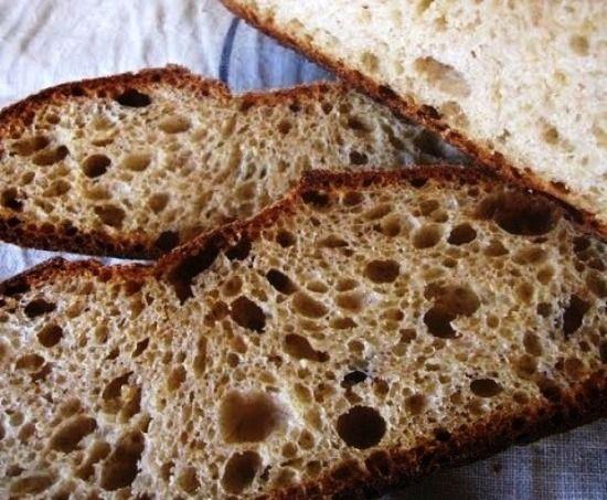Поджаристый хлеб в мультиварке