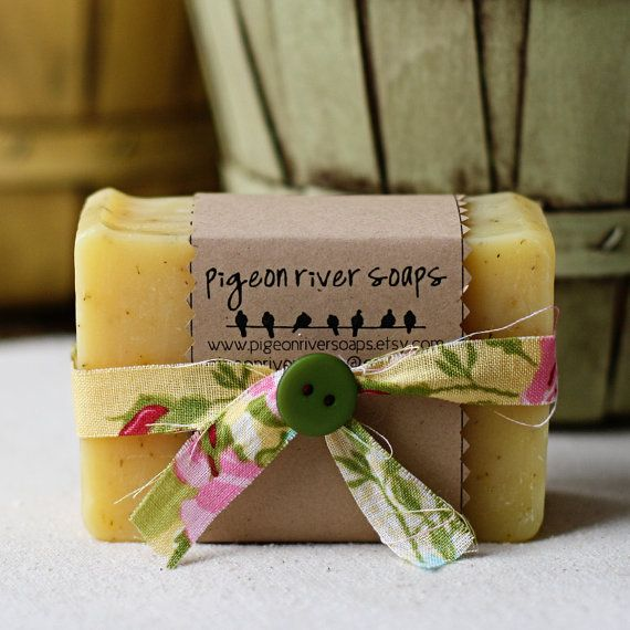 Summer's Song Handmade Vegan Soap  Light, Citrus and Outdoors-y Scent pigeonriversoaps.etsy.com