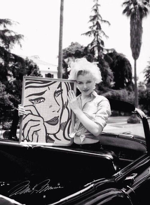 Marilyn Monroe, art appreciation, Lichtenstein