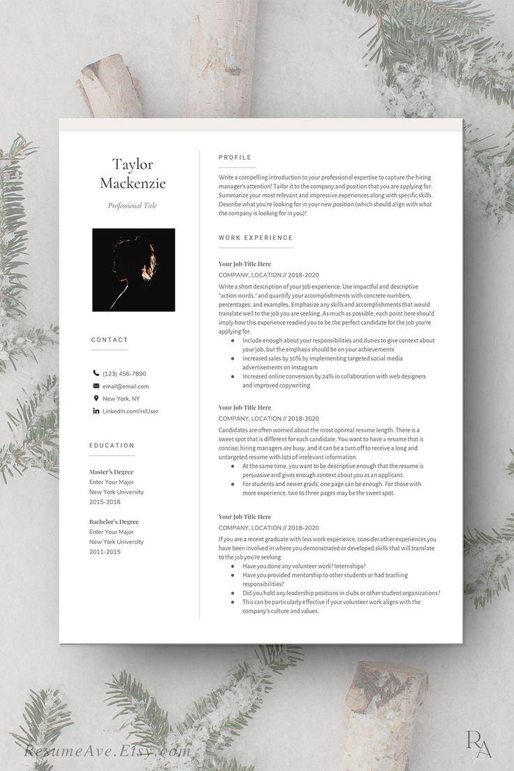 Polished google docs resume cv design and resume template