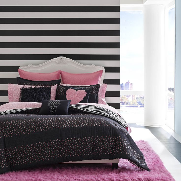 Betsey Johnson Punk Princess Cotton 3 Piece Comforter Set