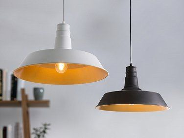 Lamp zwart - plafondlamp - hanglamp - verlichting - BAYOU