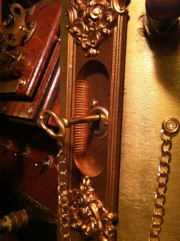 A shot of the main power switch which was made from door decor that is & 33 best Goliath