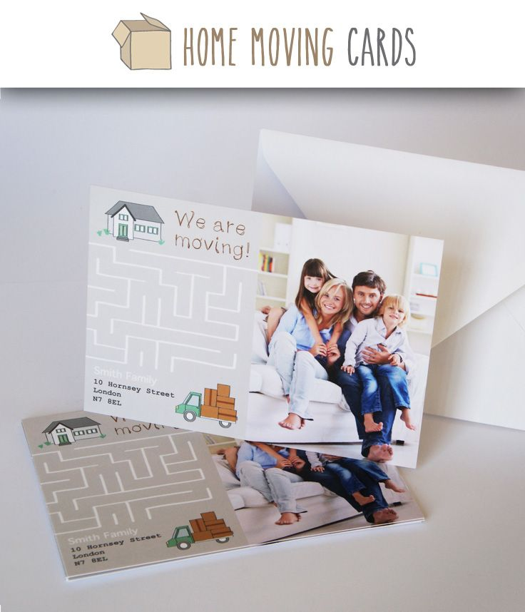 17 Best images about Change of Address Cards Photo Templates on – Change of Address Templates