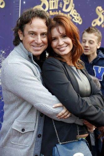 Met zijn vrouw Leontien