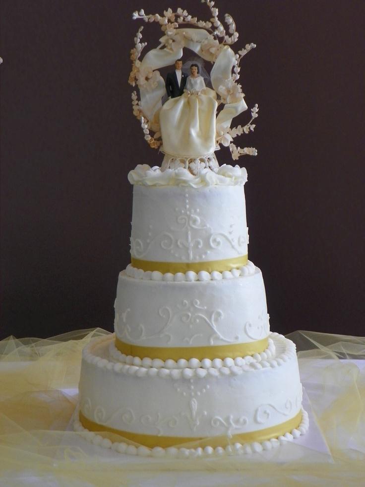Th wedding anniversary cake pinterest