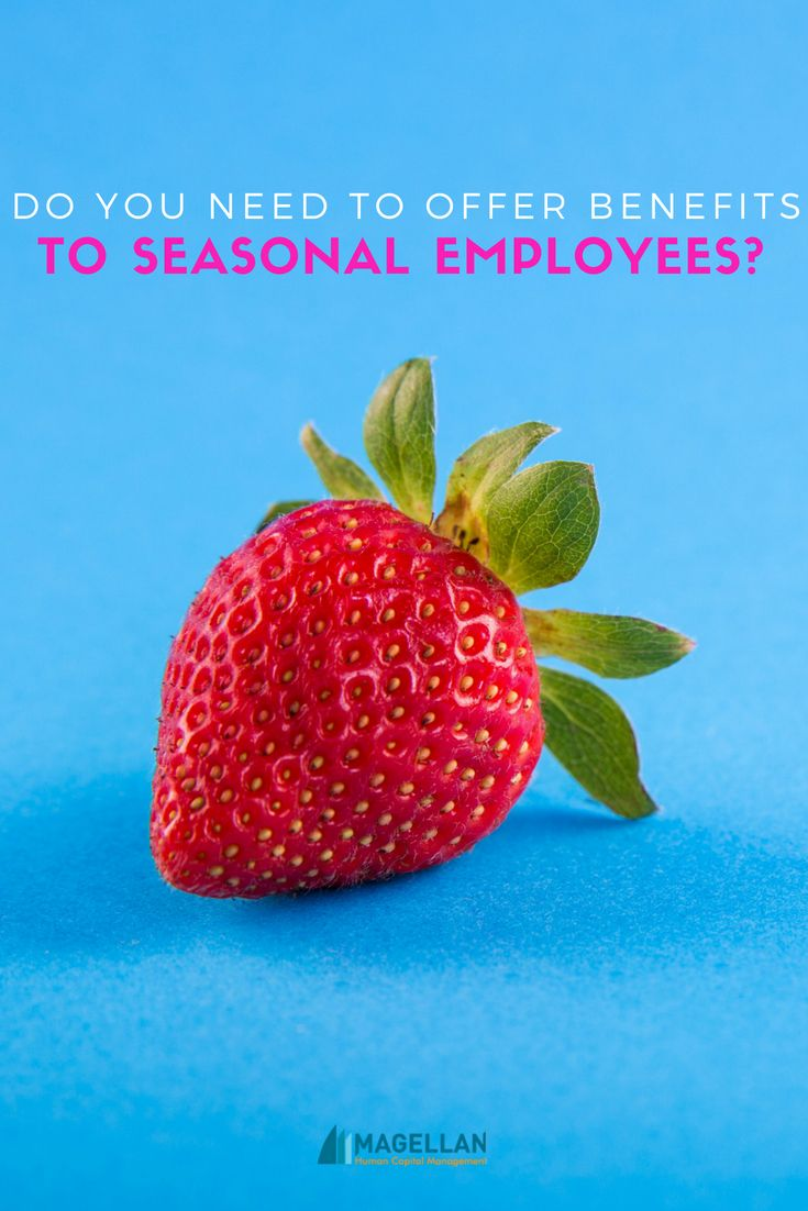 Do You Need To Offer Insurance To Seasonal Workers Insurance