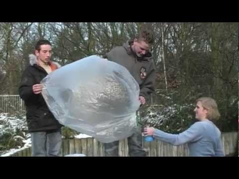 Proefje: Vliegende theezakjes (met vuur) en heteluchtballonnen