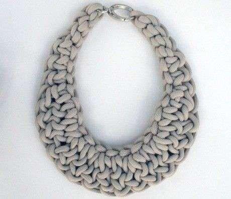 Collar de trapillo: Fotos de diseños  (7/20) | Ellahoy