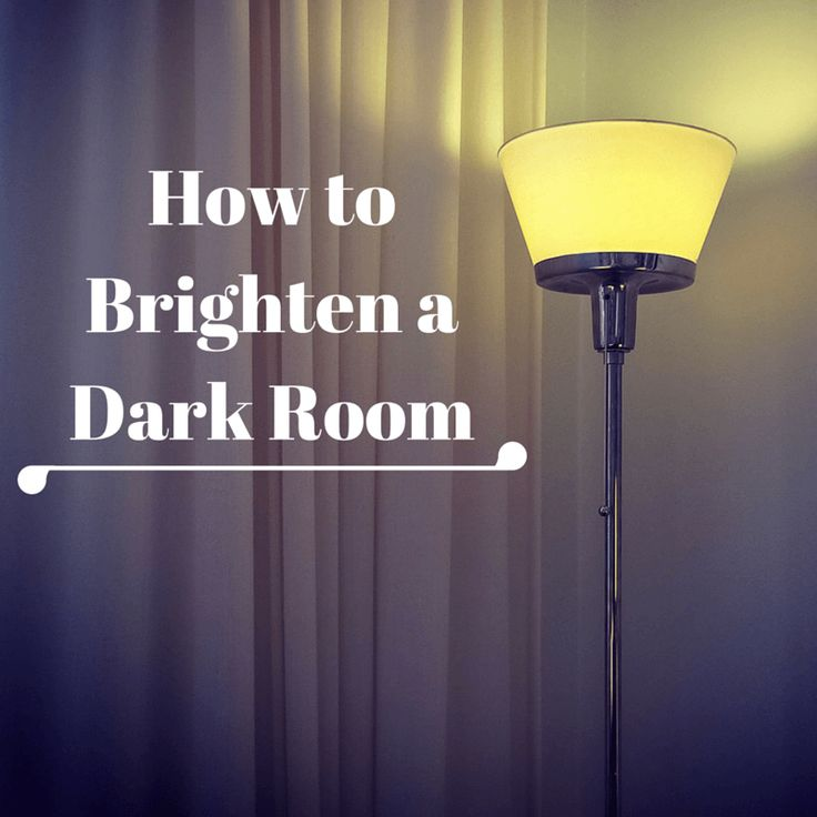 Home sellers, use these tips to brighten dark rooms in your home. Buyers are looking for homes with light, bright rooms.