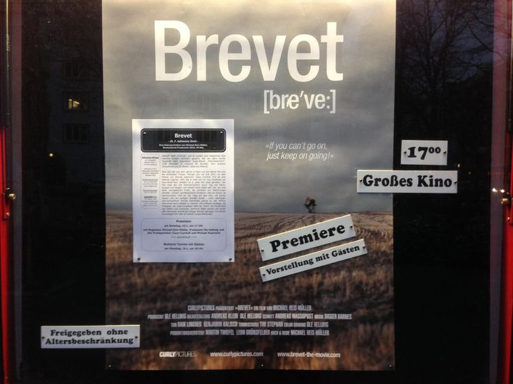 Today our buddies from Curly Rückblick auf den 16. Januar 2016: Pictures are celebrating the premiere of their documentary 'Brevet' and of course the rabbits are there!