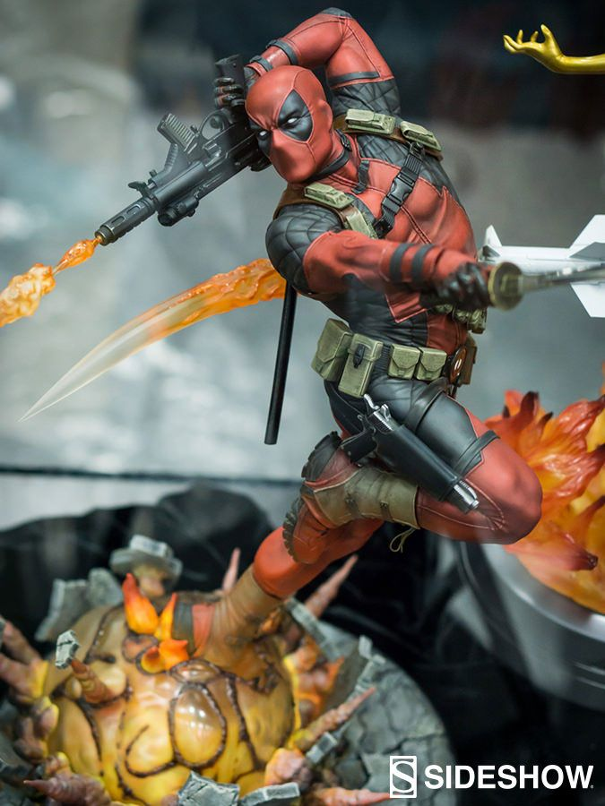 SDCC 2016: First Look at Sideshow Collectibles Deadpool Premium Format Figure | Deadpool Bugle