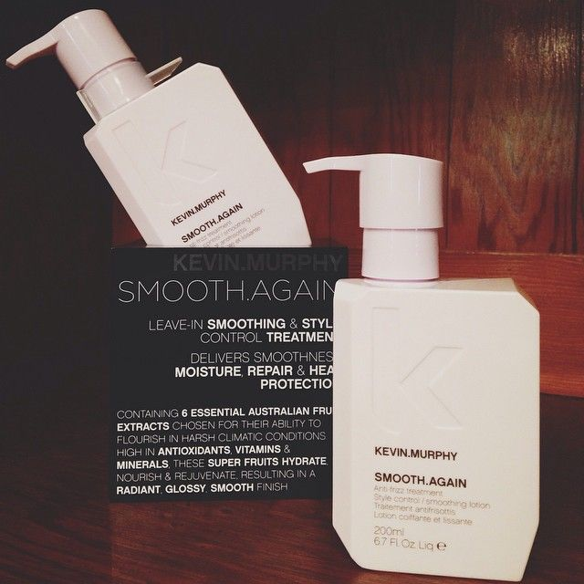 Welcoming Love Kevin Murphy newest product to the #salonvivace family! SMOOTH.AGAIN is a leave in smoothing & style control treatment that delivers smoothness, moisture,repair & heat protection. #lovekevinmurphy #kevinmurphy #pleasanton #downtownpleasanton #trivalley #eastbay #bayarea — at Salon Vivace Pleasanton.