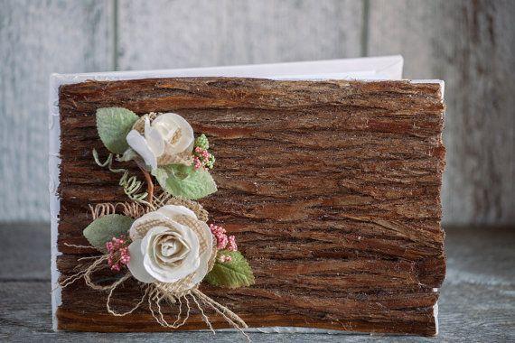 Livre d'or mariage en bois/Livre d'or par lechoixdelamariee sur Etsy