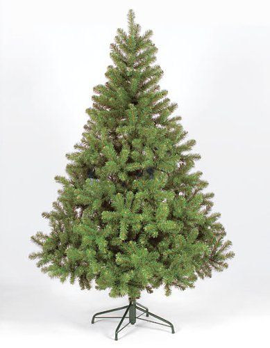 UK Christmas World - Artificial Trees Slim Green Colorado Spruce Artificial Christmas Tree (2.1m / 7ft) #christmastrees #xmastrees #christmas2014 #christmas2015 christmas2016