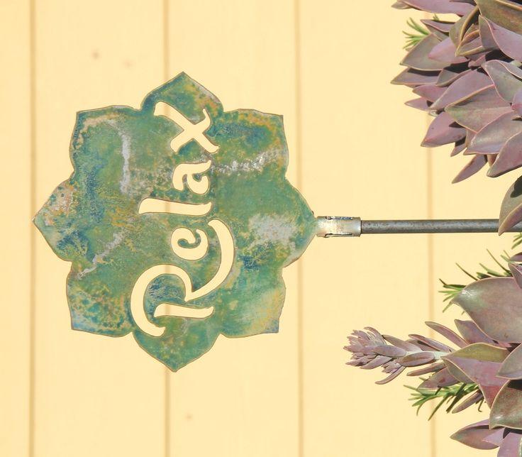 138 best Yard Art: Outdoor Wall Plaques: Metal Garden Art images on ...