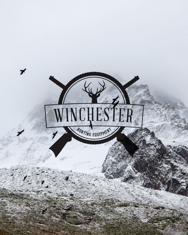 just playing around with some hipster supernatural logos
