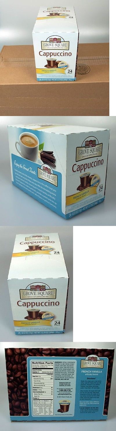Coffee Pods and K-Cups 79630: Grove Square French Vanilla Cappuccino Pods 96 Pack -> BUY IT NOW ONLY: $43.99 on eBay!