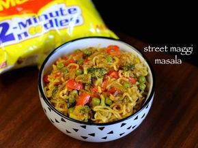 maggi noodles recipe, maggi masala noodles, maggi recipes with step by step photo/video. street style 2 minute maggi noodles for breakfast and evening snack