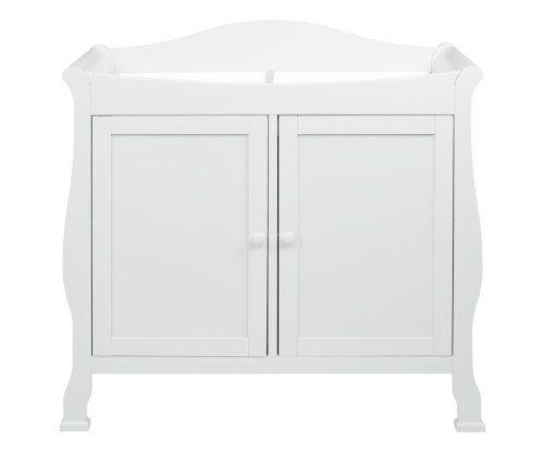 DaVinci Parker 2-Door Changer in Pure White