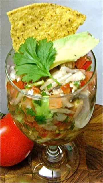 Vegetarian Ceviche...no seafood, just veggies