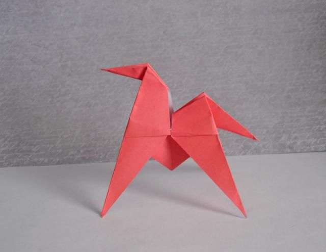 How to Fold an Easy Origami Horse
