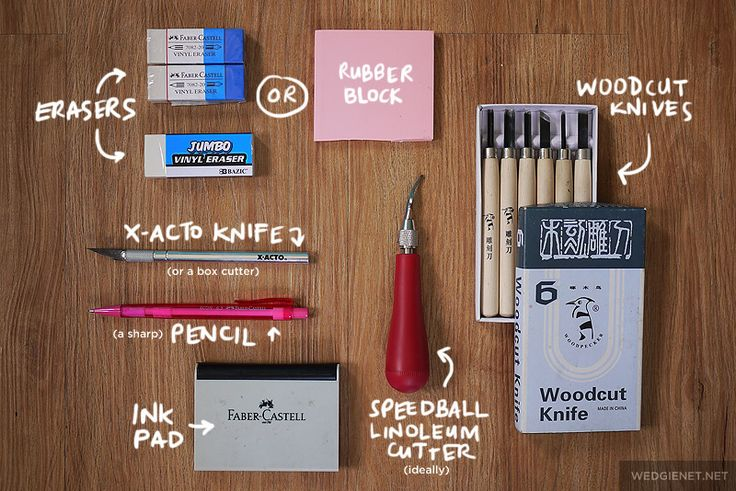 Rubber stamp tutorial