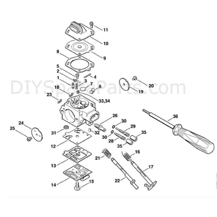 Stihl Bg 65 Parts Diagram Stihl Fs 80 Parts Diagram