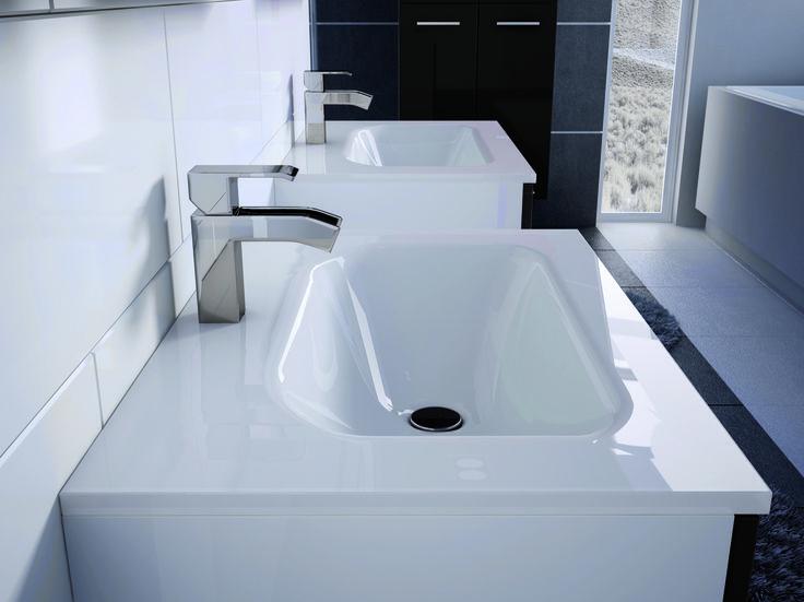 washbasin Duo. #elita #meble #elitameble #lazienka #kwadro #bathroom #furniture