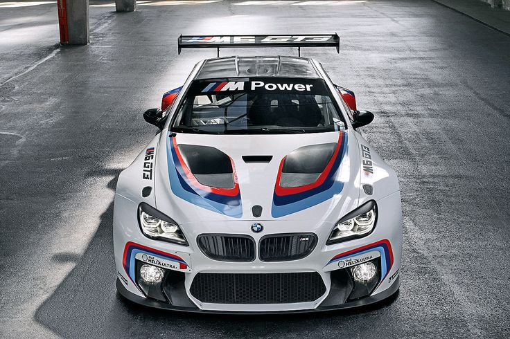 Looking ready for battle. Unveiled at the 2015 Frankfurt Auto Show, the BMW M6 GT3 is a racing version of the big sporting Bimmer coupe. #fortheloveofmachines