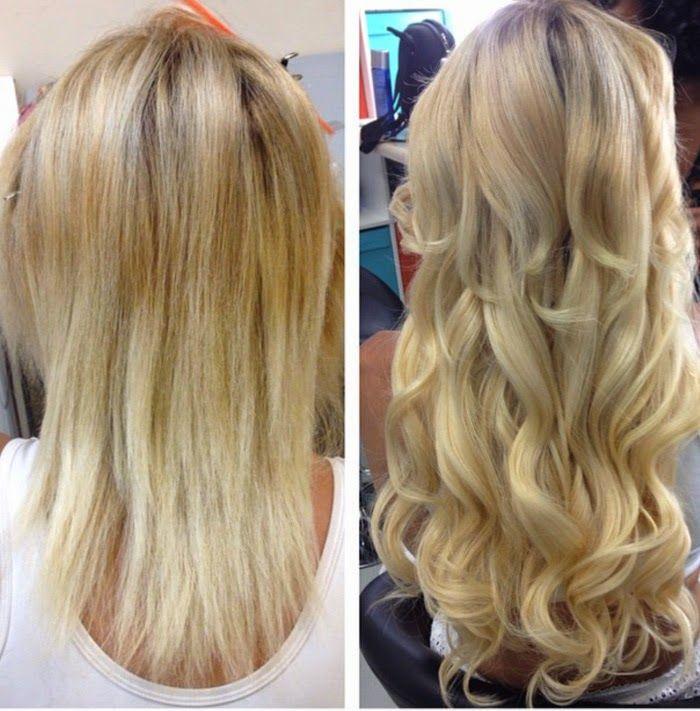 Gorgeous Blond Hair Extensions Superbes Extensions De