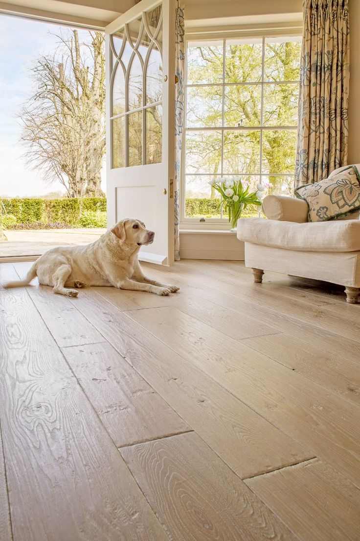 Limed Generations distressed rustic flooring (With images