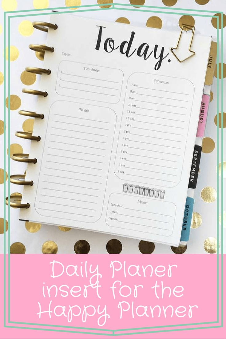It is an image of Impeccable Free Mini Happy Planner Printable Inserts