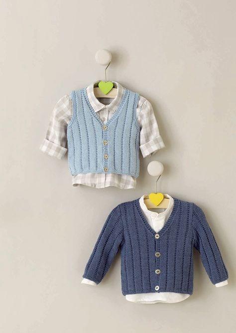 Mejores 9 imágenes de ropa bebe en Pinterest | Tejido para bebé ...