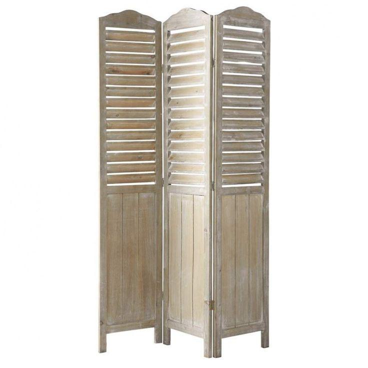 Biombo de madera An. 106 cm Eloise | Maisons du Monde