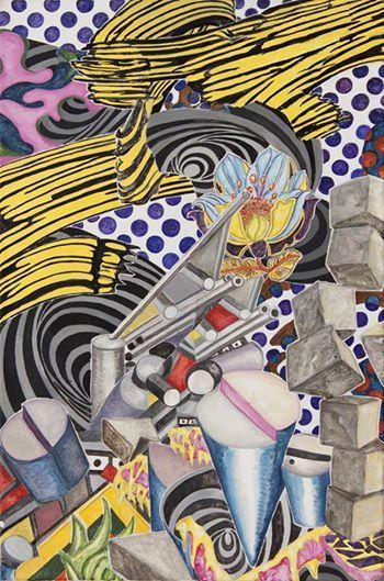 Sneak peek_15 Abetz & Drescher Dialektik der Aufklärung/ Dialectic of Enlightment 2013, Acryl auf Leinwand Acrylic on canvas, 90 x 60 cm
