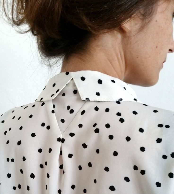 Le nouveau patron - Parisette : la chemise citadine - Blousette Rose