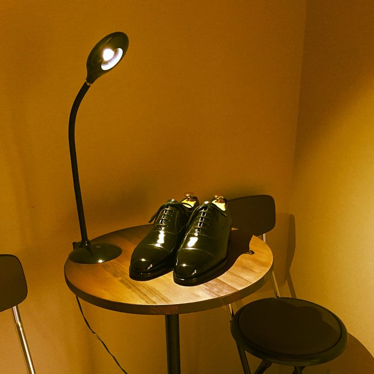 My Shoeshine Room