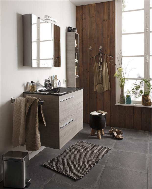 35 best Ranger pour décorer images on Pinterest Bathroom furniture - meuble pour wc suspendu leroy merlin