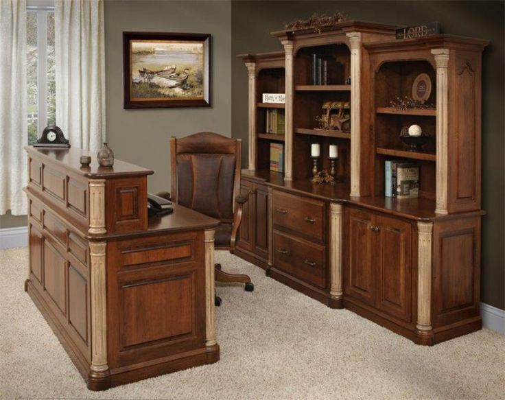 356 best amish executive office furniture images on pinterest