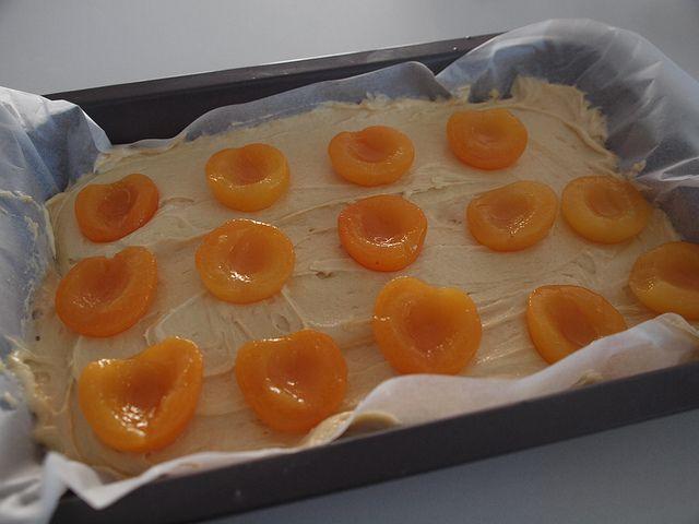 big apricot cake